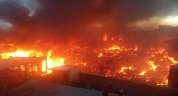 Un violent incendie au Madagascar ravage 300 cases