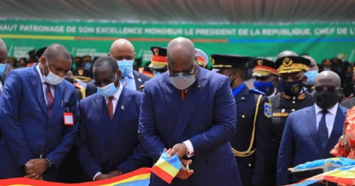 Ecole de Guerre de Kinshasa inaugurée par le Président Tshisekedi