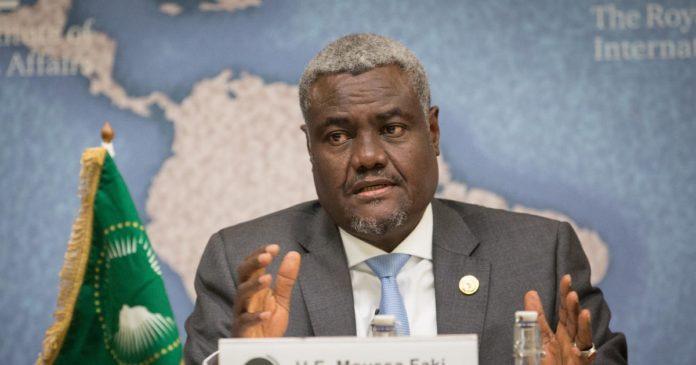 Présidence commission de l'UA: Moussa Faki , candidat unique