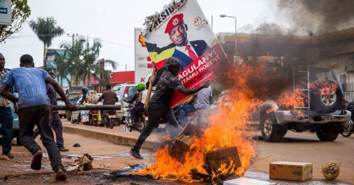 Traders distraught ahead of presidential election in Uganda
