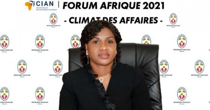 Forum CIAN: « La crise sanitaire a été inédite, cependant nous l'avons su gérer efficacement », Sandra Johnson (Togo)