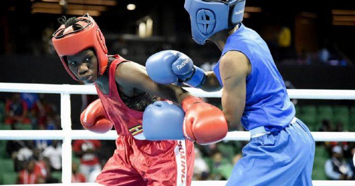 Sport: Catherine Nanziri, première boxeuse ougandaise qualifiée pour les JO