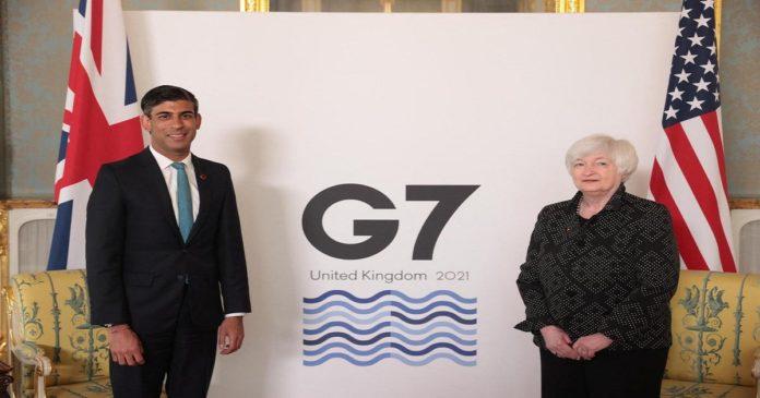sommet G7 post Covid