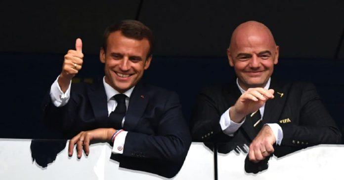 antenne de la Fifa à Paris