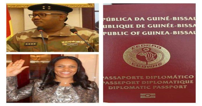 Passeports diplomatiques guinéens