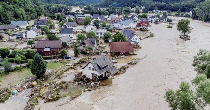 Inondations en Allemagne , des dégâts inimaginables suite à des pluies diluviennes