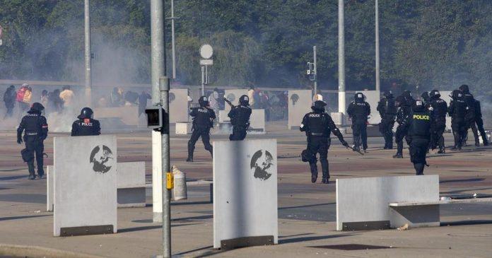 Manifestations anti Biya , une émeute sanctionnée par des peines judiciaires