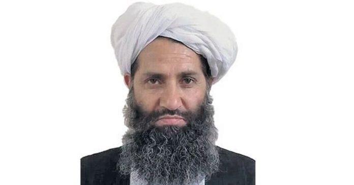 Afghanistan , mollah Haibatullah Akhundzada, l'invisible chef des talibans, pressenti à la tête du futur gouvernement